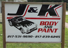 J&K Body and Paint - Location - Ogden, IL